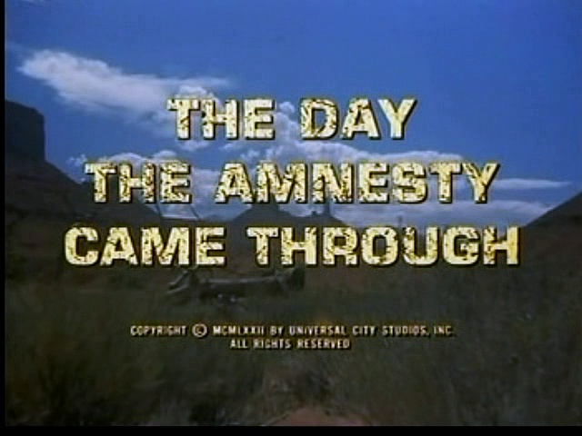 Alias Smith & Jones S03e08  The Day The Amnesty Came Through