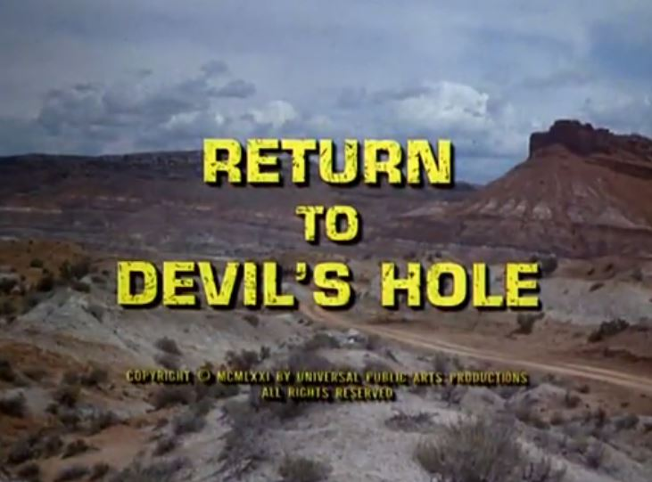 "Alias Smith & Jones ""Return To Devil's Hole"" S01 E07"