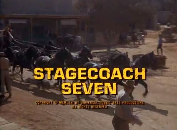 "Alias Smith & Jones ""Stage Coach Seven"" S01 E09"