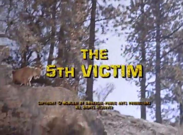 "Alias Smith & Jones ""The Fifth Victim"" S01 E12"