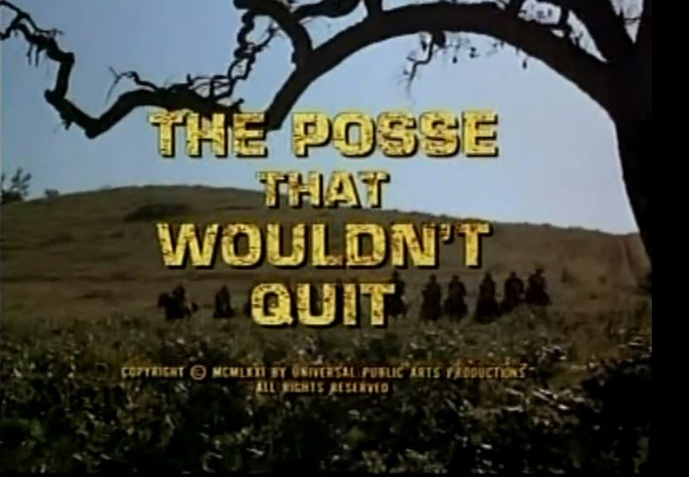"Alias Smith & Jones ""The Posse That Wouldn`t Quit"" S02 E05"