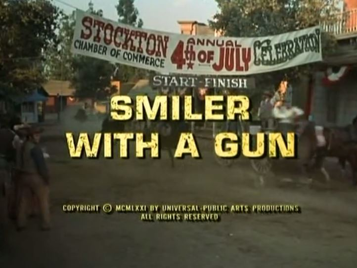 "Alias Smith & Jones "" Smiler With A Gun"" S02 E04"