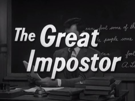 The Great Impostor 1961 w/Tony Curtis
