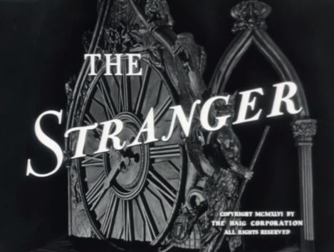 The Stranger 1946 with Edward G. Robinson