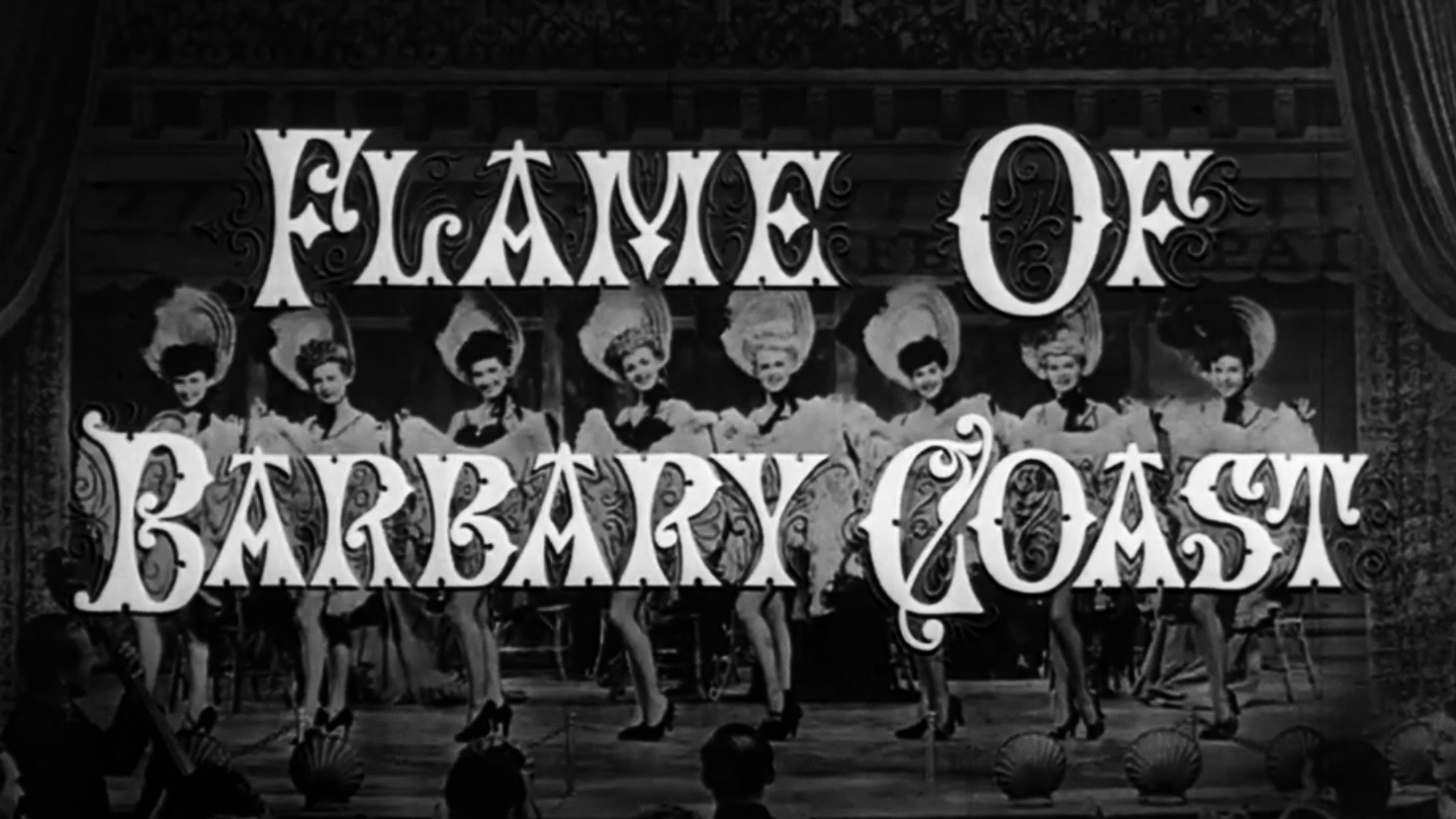 Flame of Barbary Coast 1945