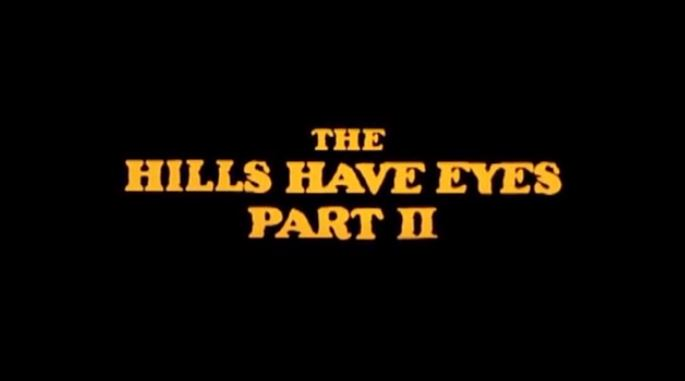 The Hills Have Eyes Part II 1984