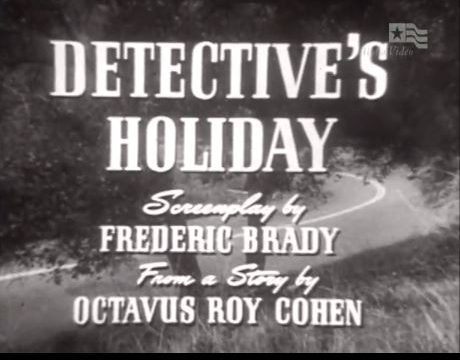 Detective's Holiday 1954