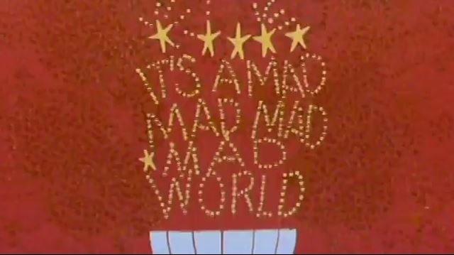 Mad Mad World 1963