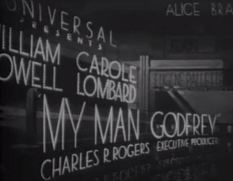 My Man Godfrey 1936